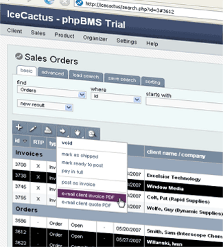 Web Based Invoicing Tools Ontwerps